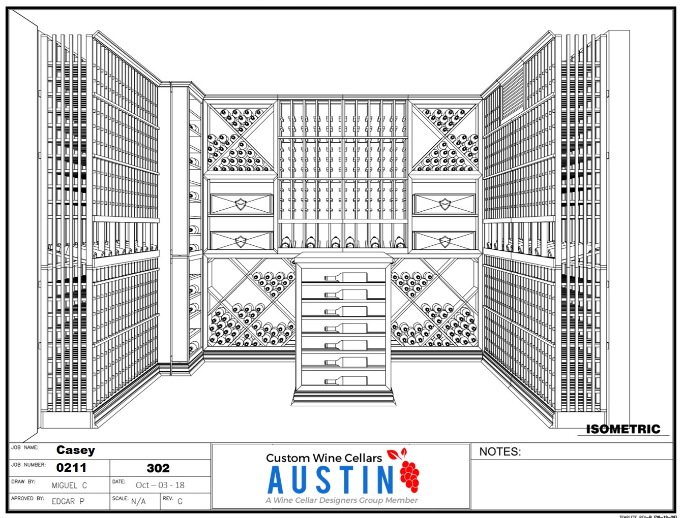 Austin Residential Amp Commercial Custom Wine Cellar Designs